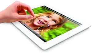 Jetzt auch mit 128 Gigabyte Speicher zu haben: Das iPad von Apple.