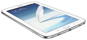 """Das Galaxy Note 8.0 von Samsung war bislang nur in weiß angekündigt, kommt nun aber sehr wahrscheinlich auch in grau und in """"Charcoal Black""""."""