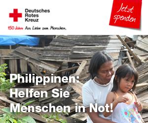 DRK und EURONICS sammeln Spenden für die Philippinen