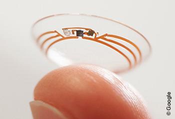 Google setzt bei Wearables künftig auf smarte Kontaktlinsen