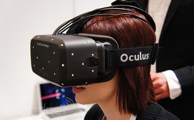 Oculus Rift Crystal Cove: Stark besserte neue Version der VR-Gaming-Brille