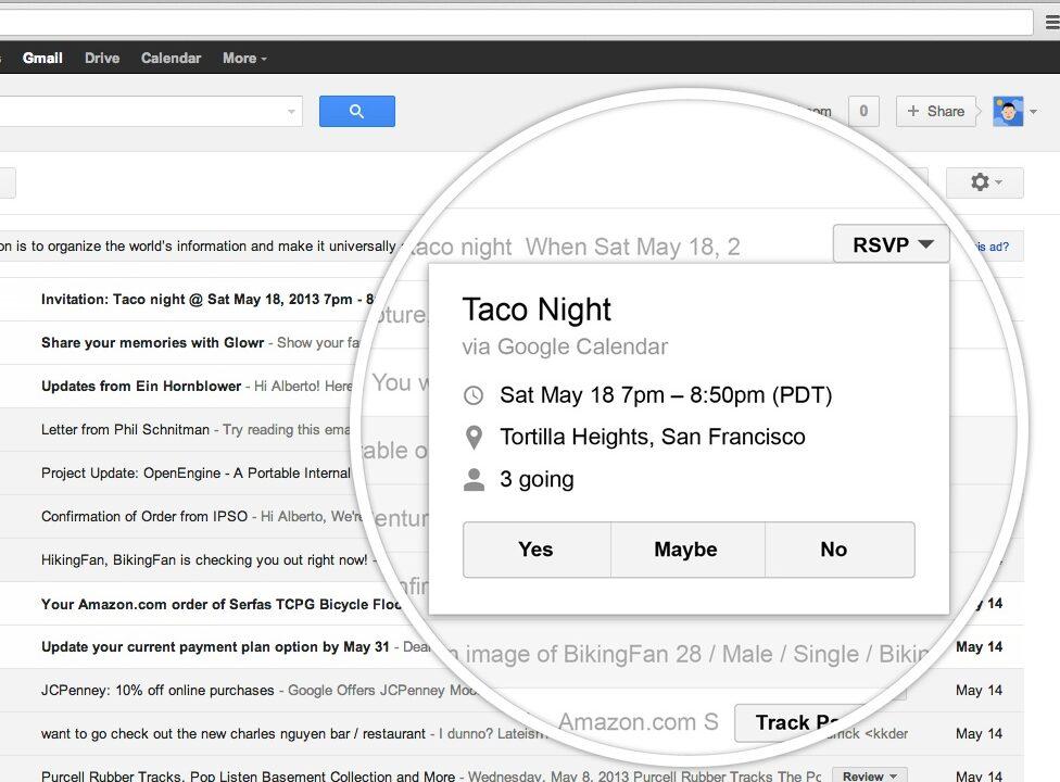 GMail erlaubt das Abmelden von Mailverteilern mit einem Klick