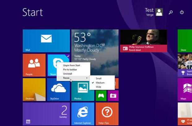 Einfach auf Windows 8.1 aktualisieren - Problem beseitigt. (Foto: Microsoft)