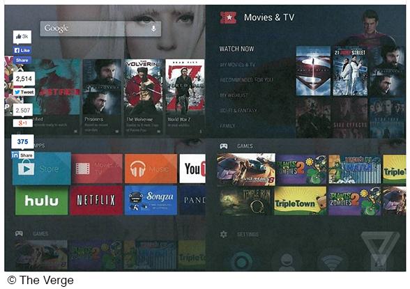 Android TV: Google plant ein neues Fernsehbetriebssystem