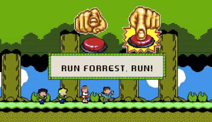 Forrest Gump: Video zeigt fiktives 8-bit-Spiel des Kino-Klassikers