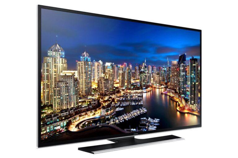 Samsung 4K-Fernseher (älteres Modell). Bild: Samsung