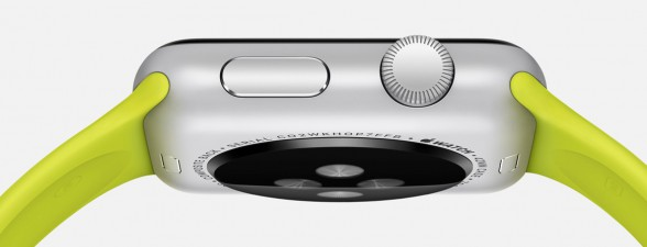 Apple Watch Sport mit Scrollrad und Home-Taste