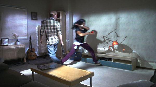 RoomAlive: Microsoft Research verwandelt Zimmer in interaktives Holodeck