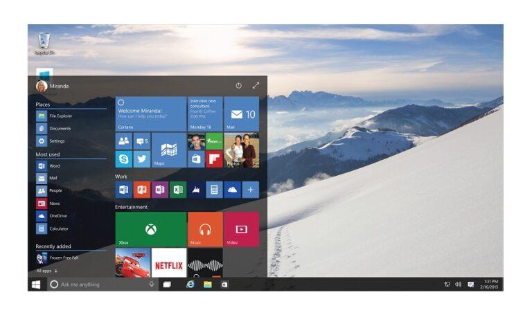 So gesehen basiert auch Windows 10 auf Vista. (Foto: Microsoft)