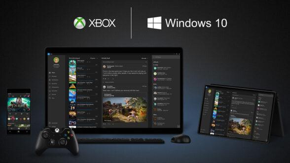 Die Xbox App für Windows 10