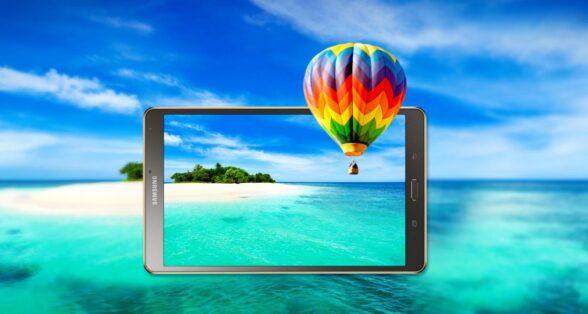 Wie wäre es mit dem Samsungs Galaxy Tab S 8.4? (Foto: Samsung)