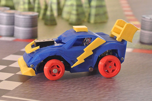 3DRacers: Die Spielzeug-Rennbahn für Bastler aus dem 3D-Drucker
