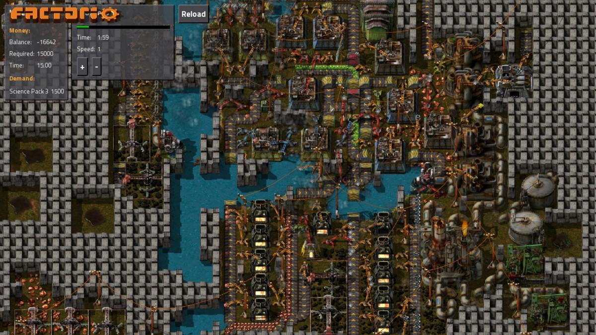 Spiel Der Woche Factoria Fabrikenbau Auf Einem Fremden Planeten Reload 1500