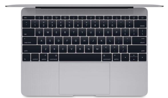 Apples neues MacBook mit randloser Tastatur