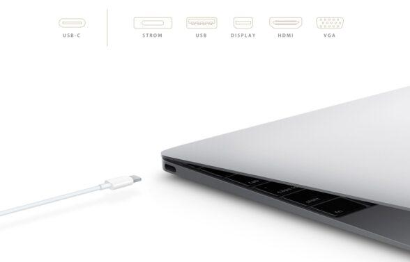 Einer für alles: Der USB-Typ-C-Stecker