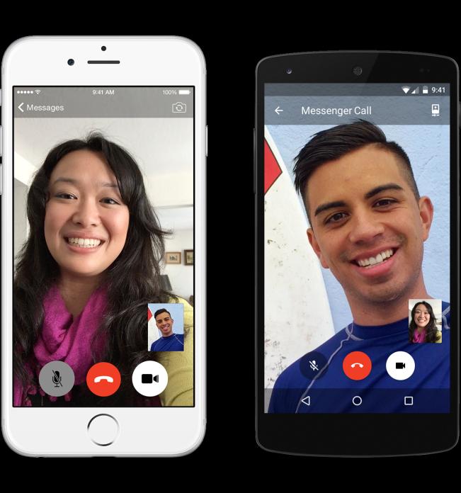 Facebook Messenger eignet sich auch als Messenger mit Videofunktion. (Foto: Facebook)