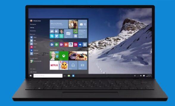Das neue Startmenü von Windows 10