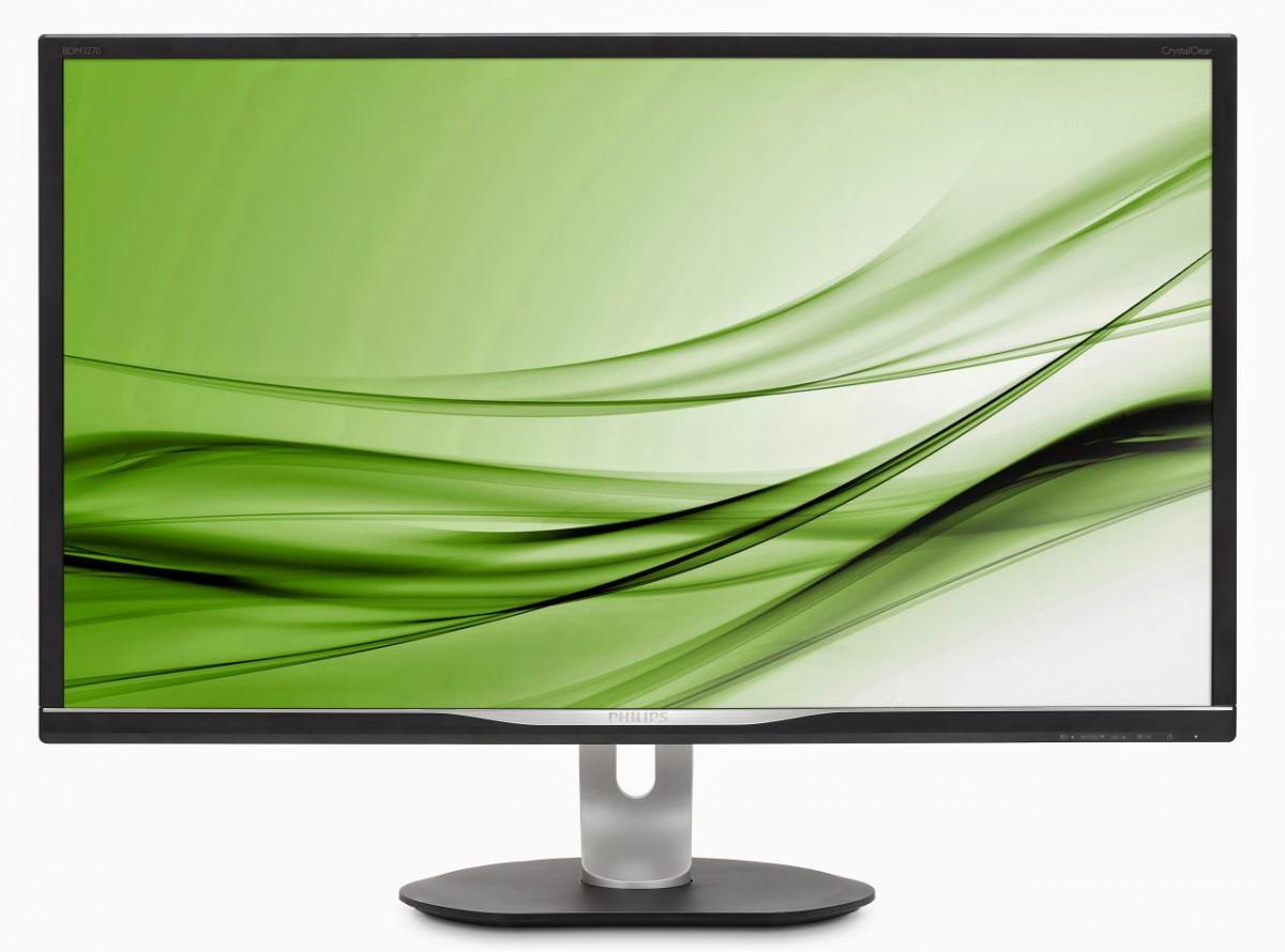 Philips Bdm3270qp Monitor Für Den Arbeitsalltag Mit Qhd Auflösung