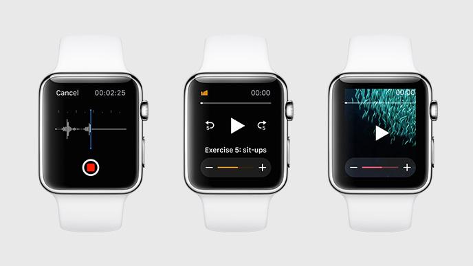 Die Gesundheitsapp ist bereits Teil von watchOS (Bild: Apple)