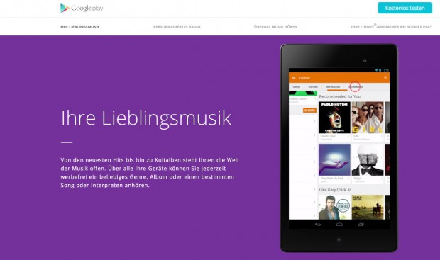 Googles weniger bekannte Alternative Play Music All Access