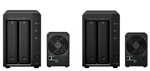 Synology: Neue NAS-Server DS715 und DS215+ vorgestellt