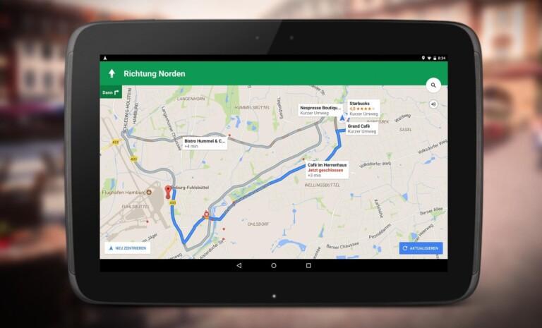 Google Maps ist ein Allrounder. (Foto: Google)