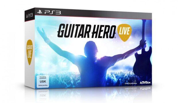 Guitar Hero Live mit neuer Gitarre.