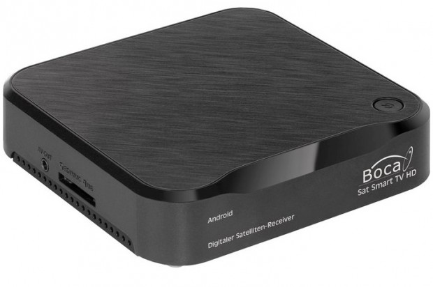 Boca Smart TV Box: Satelliten-Receiver und Smart-TV-Box in einem