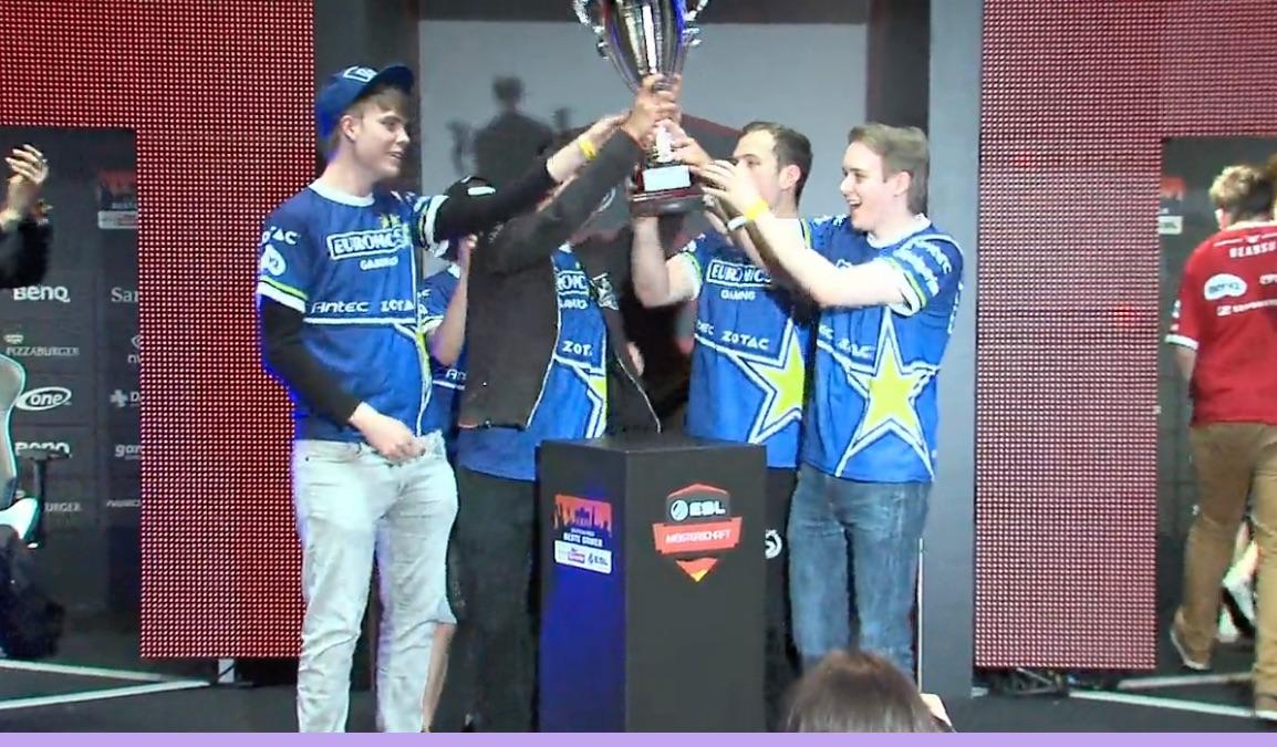 Glückwunsch an unsere Jungs! Euronics Gaming schlägt mousesports im Finale der ESL Sommermeisterschaft 2015 League of Legends