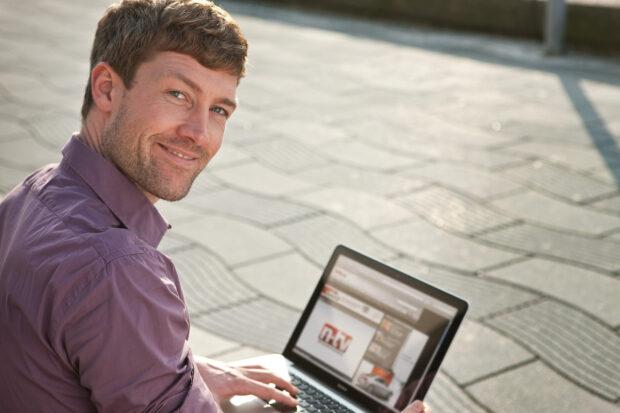 Wer mit dem Laptop ins mobile Internet möchte, setzt vor allem auf LTE. (Bild: Telekom)