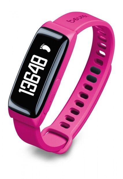 Im Fitness-Tracker stecken auch Sensoren. (Foto: Baurer)