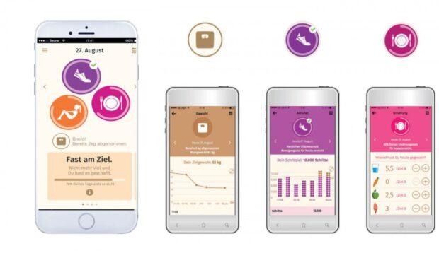 Die App für Fitness. (Foto: Baurer)