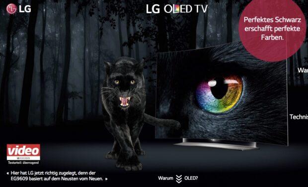 LG-Werbung für OLED-Fernseher