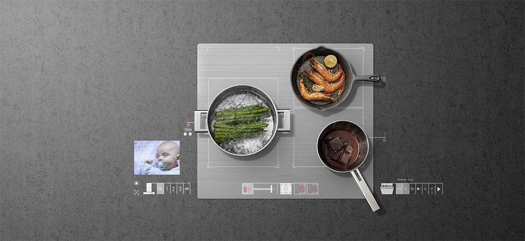 Smarte Kochfelder können das Fleisch auf den Punkt garen