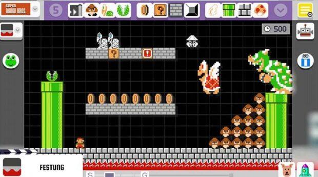 Mario, wie hier im Super Mario Maker, gibt's nur auf der Wii U. (Foto: Nintendo)