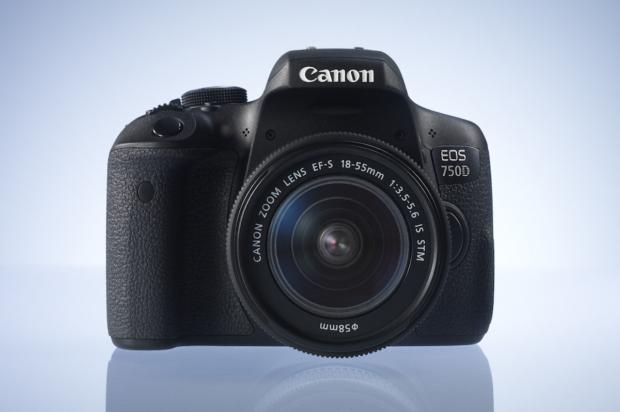 Spiegelreflexkamera Canon EOS 750D