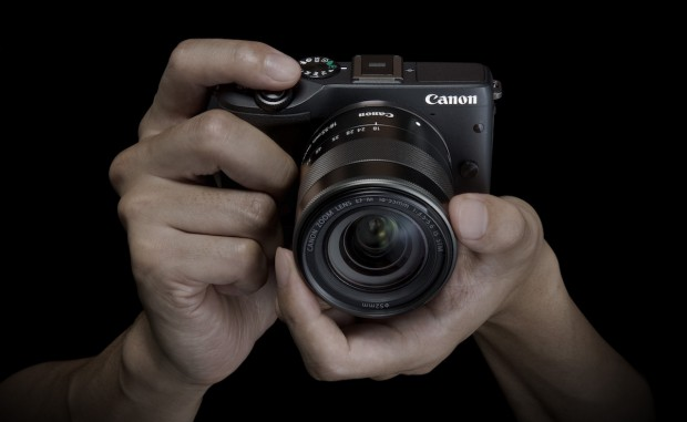 Canons einzige spiegellose Systemkamera EOS M