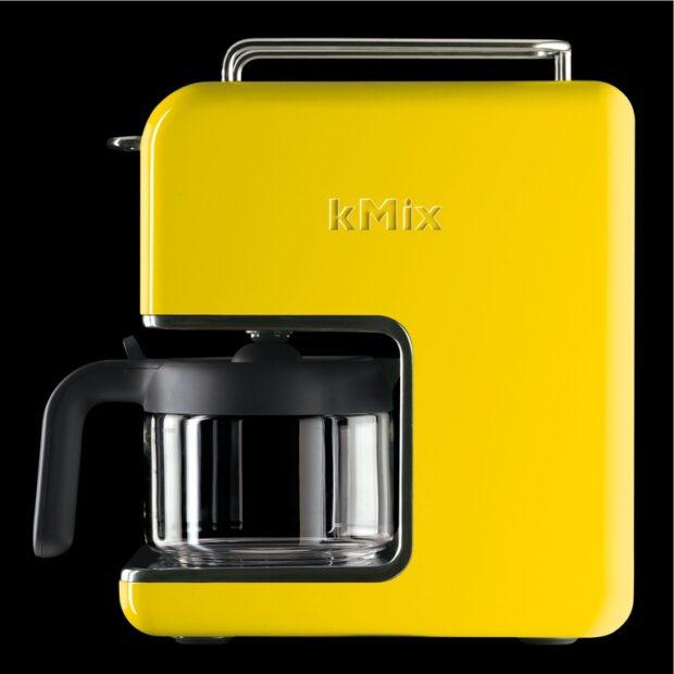 Kann auch optisch was her machen: eine gute alte Filterkaffeemaschine wie hier die Kenwood kmix.