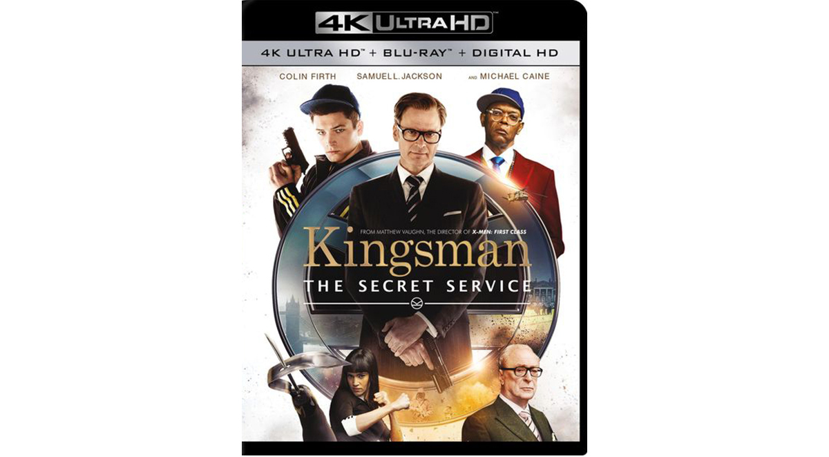 Kingsman_Ultra HD Blu-ray Disc