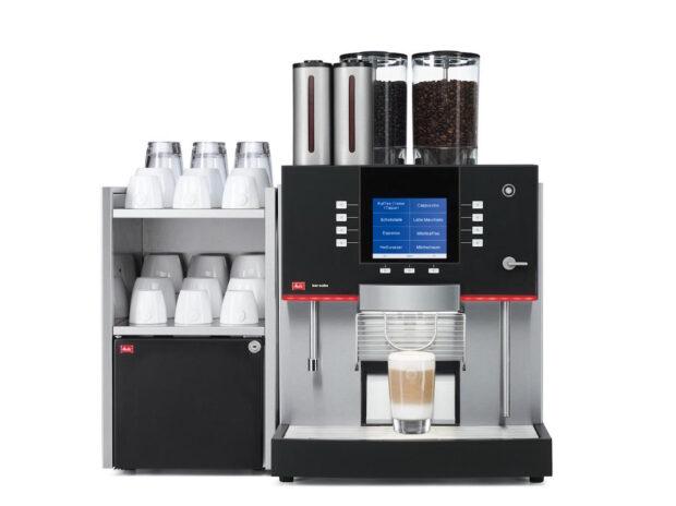 Cappuccino und Co. auf Knopfdruck: Längst kein Problem mehr für moderne Vollautomaten wie hier von Melitta.