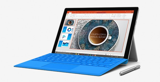 Mehr Tablet als Laptop, bereits in der 4. Version. Microsoft Surface Pro 4