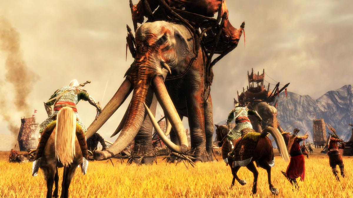 """Keine HD-Neuauflagen in Sicht für ältere EA-Spiele wie """"The Lord of the Rings: Conquest""""."""