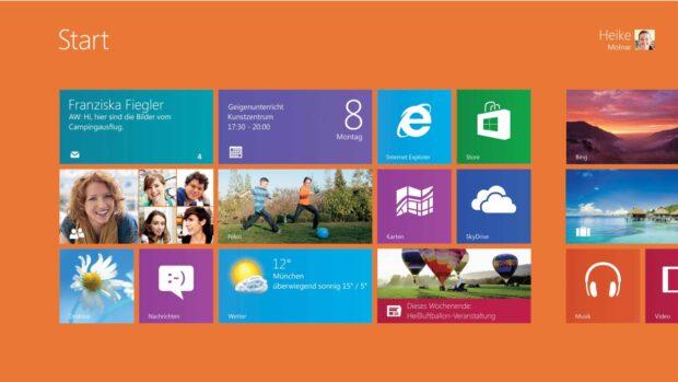 Mal Kacheln, mal Desktop: Windows 8 ist nicht meins geworden.