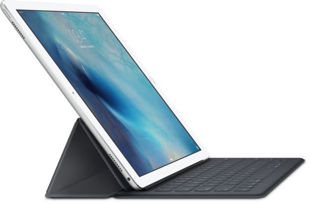 Mit Smart Keyboard zum Laptop. (Foto: Apple)
