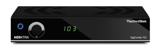 Der TechniSat DigiCombo TS1 hat einen DVB-T- und einen DVB-T2-Receiver eingebaut. (Bild: TechniSat)