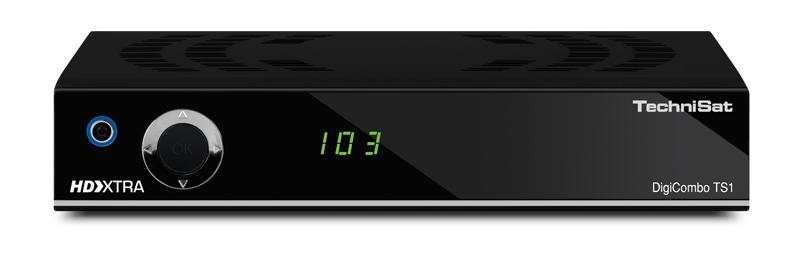 Ein DVB-T2-Receiver wie der TechniSat DigiCombo TS1 kostet nicht viel und bringt die Spiele der Fußball-WM 2018 recht schnell auf den Bildschirm (Bild: TechniSat)