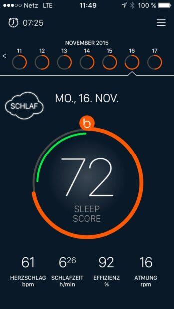 Gut geschlafen? (Foto: Sven Wernicke / Screenshot)