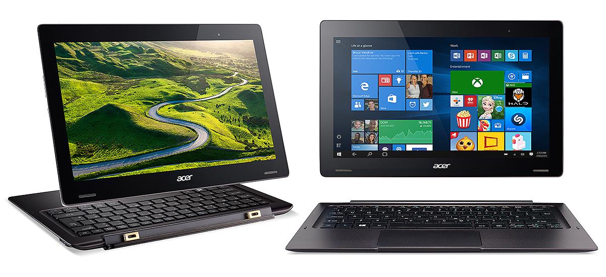 Mit dem Notebook-Tablet-Hybrid Switch 12 S hat Acer auf der CES sein neues 2-in-1-Flaggschiff präsentiert