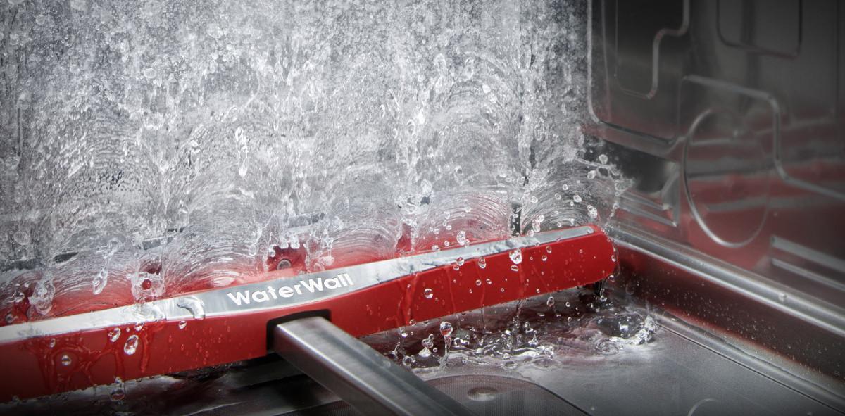 WaterWall-Technik erklärt: Geschirrspülen wie in der Autowaschanlage