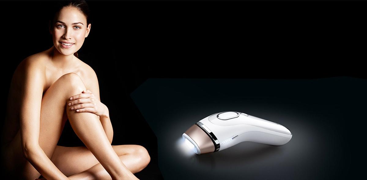 Braun Silk-expert IPL: Mit Lichtimpulsen Haare dauerhaft entfernen